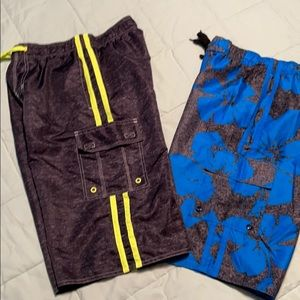 NWOT Laguna swim trunks bundle